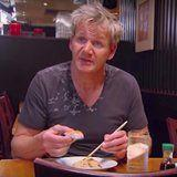 """Watch Gordon Ramsay Spit Out Sushi Pizza: """"That Is an Insult to Pizza and Japanese Food"""""""