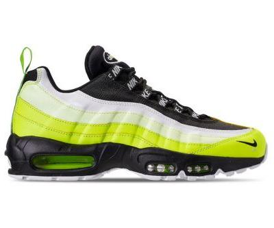 "Nike's Air Max 95 Premium Electrifies in ""Volt Glow"""