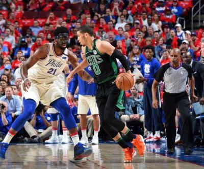 Jayson Tatum: Celtics 'Should Have Swept' the Sixers