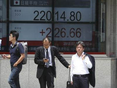 Asian shares rise despite escalating US-China trade row