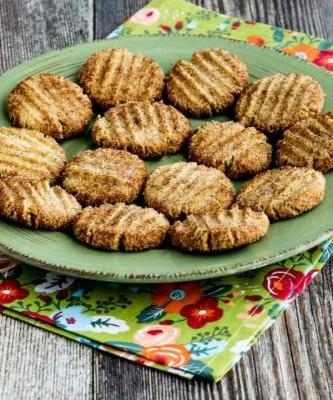 Sugar-Free Flourless Cookies with Almond Flour and Flaxseed