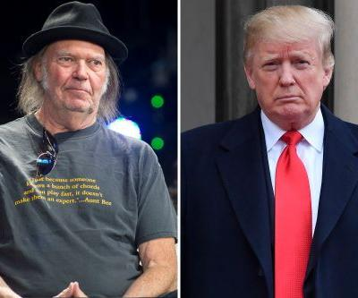 Neil Young blasts Trump after losing his home to wildfires