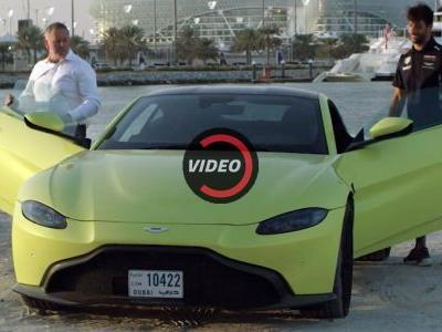What Do F1 Drivers Think Of The New Aston Martin Vantage?
