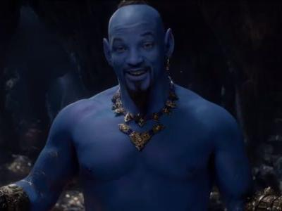 Wait, What Did You Think Will Smith's Live Action Genie Was Going To Look Like?