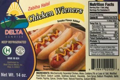 Multiple brands of chicken, beef and pork products recalled