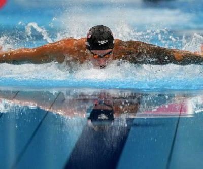 American stars compete in new relay event during final night of swimming
