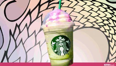 Starbucks sneakily released a Dragon Frappuccino and it looks refreshing