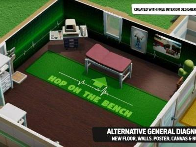 Two Point Hospital Gets Interior Designer Update, Steam Workshop Functionality