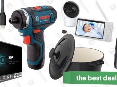 Tuesday's Best Deals: Bosch Drill, Dutch Oven, Super-Thin iPhone Cases, and More
