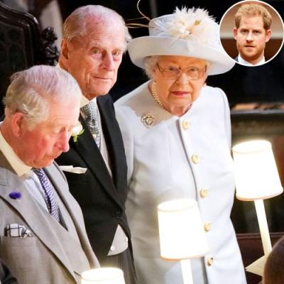 Prince Harry Puts Royal Drama Aside to Attend Prince Philip's Funeral