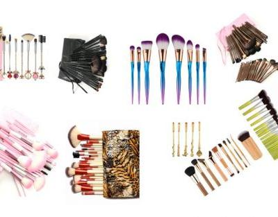 10 Stylish Makeup Brush Sets