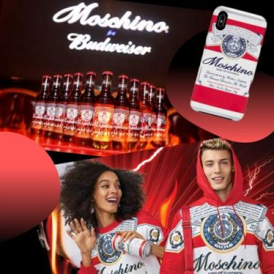 Moschino's Latest Tongue-in-Cheek Collab