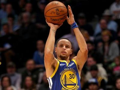NBA wrap: Warriors top Nuggets behind impressive 3-point shooting performance