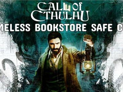 Call Of Cthulhu 2018: Nameless Bookstore Safe Code Guide