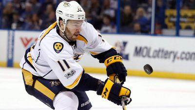 P.A. Parenteau to dress for Predators in Game 3 against Penguins