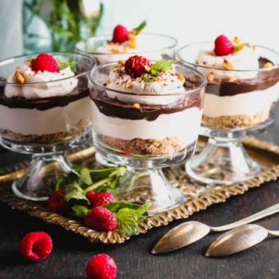 Chocolate Cheesecake Trifle
