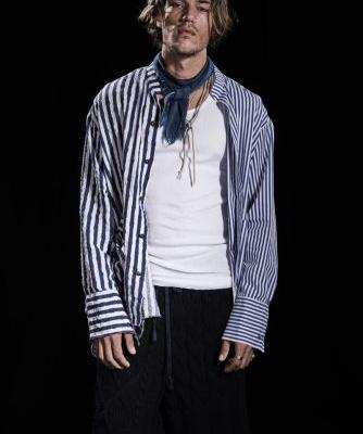 The Nomad Goes Nautical for Paul & Shark by Greg Lauren Spring '20 Collection