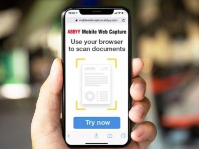 Abbyy's data capture SDK uses AI to onboard customers through mobile websites