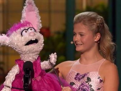 Watch America's Got Talent's Darci Lynne Sing On Stage With A Famous Muppet