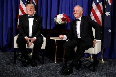 Malcolm Turnbull and Donald Trump met for just 30 minutes in New York
