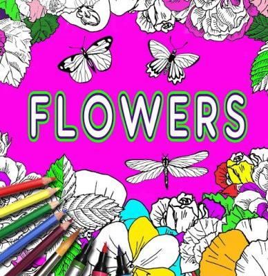 Coloring Book With Flowers Butterflies and Dragonflies Update