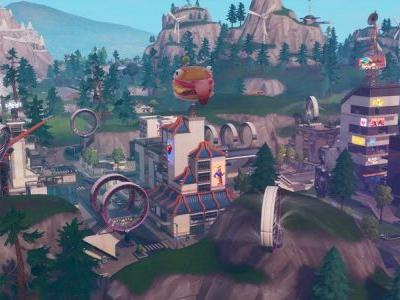 Ride the wind! How to ride the Slip Streams in Fortnite