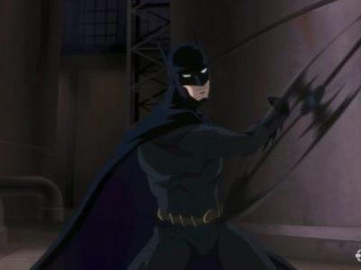Batman Hush Movie - First Look at Batman