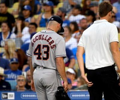 Star Astros pitcher suddenly needs elbow examined
