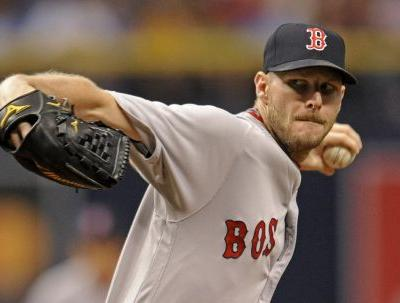 Red Sox ace pitcher Chris Sale placed on disabled list