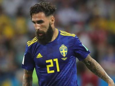 Swedish national soccer team chants 'F-- racism!' after abuse directed at player Jimmy Durmaz