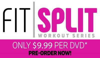 Pre-Order Cathe's New Fit Split Workouts