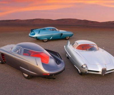 RM Sotheby's to Auction Three Alfa Romeo B.A.T. Concepts for an Expected $20 Million USD