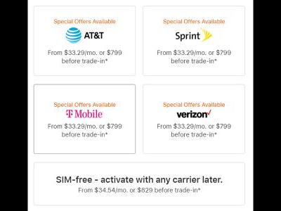 T-Mobile and Sprint match AT&T and Verizon with $799 iPhone 12 pricing