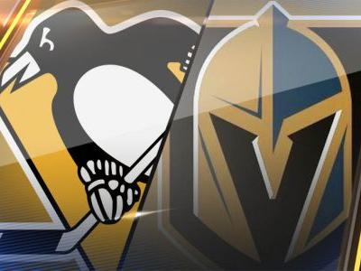 Kessel's hat trick powers Penguins past Vegas 4-2