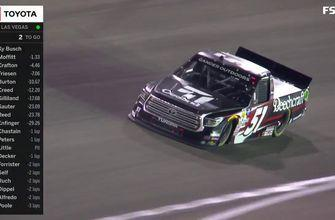 Kyle Busch goes back-to-back with NASCAR Truck Series win in Las Vegas