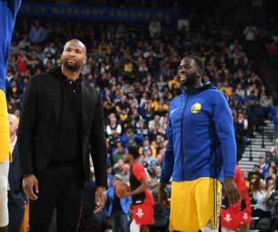Draymond Green at a 'Loss for Words' Over DeMarcus Cousins' Torn ACL
