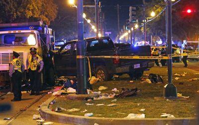Police: Car plows into parade crowd in New Orleans; 28 hurt