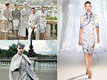 Chinese airline debuts uniforms during Paris Couture Week