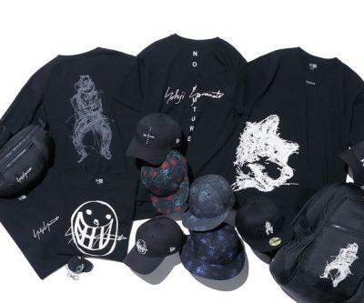 Yohji Yamamoto's Latest New Era Capsule Is Graced by Yuuka Asakura's Edgy Illustrations