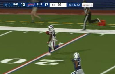 WATCH: Ex-England rugby star Christian Wade scores 65-yard TD with first touch as NFL player