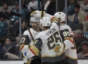 Smith, Marchessault lead Golden Knights past Sharks 7-3