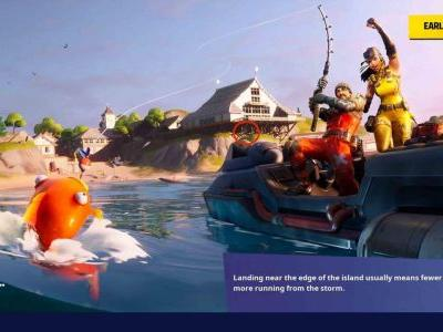 """Fortnite """"O"""" Location: Where To Search Letter O In Open Water Loading Screen"""