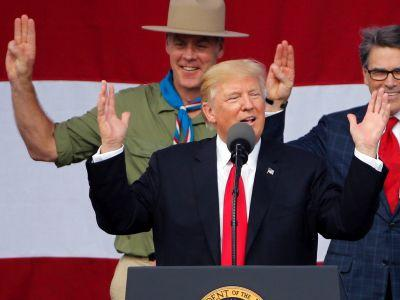 Parents railed against the Boys Scouts of America after Trump's campaign-style speech