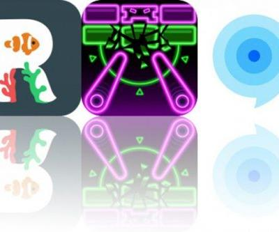 Today's Apps Gone Free: Reefminder, Pinball Breaker Forever and Idyoma