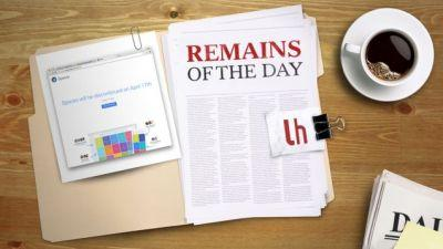 Remains of the Day: Google Spaces to Be Shut Down