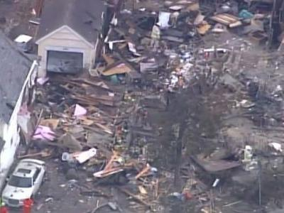 'You kind of blink, and the house was gone': Home explodes in Minnesota