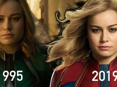 Why Captain Marvel Doesn't Age Between The 1990s & Avengers 4