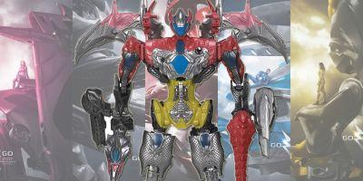 Power Rangers Colossal Megazord Toy Reveals Where Each Zord Fits