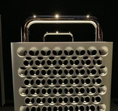 Our first-look photos of the Apple's new Mac Pro and the Pro Display XDR