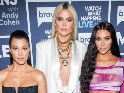 Supportive Sisters! Khloé, Kim, Kourtney Kardashian and Kanye West Spotted at Church After Tristan Thompson Scandal